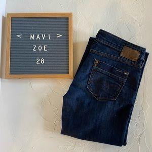 "Mavi ""Zoe"" Dark Wash Bootcut Jeans Size 28"